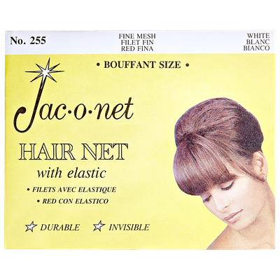 Jac-O-Net Nylon Bouffant Net - White