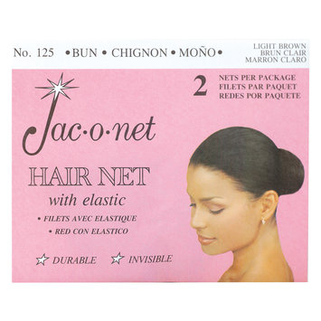 Jac-O-Net Chignon Bun Light Brown