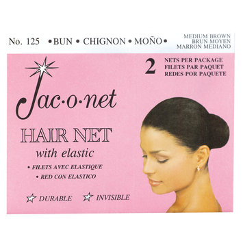 Jac-O-Net Chignon Bun Medium Brown