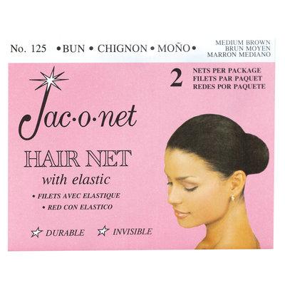 Jac-O-Net Chignon Bun Medium Brown