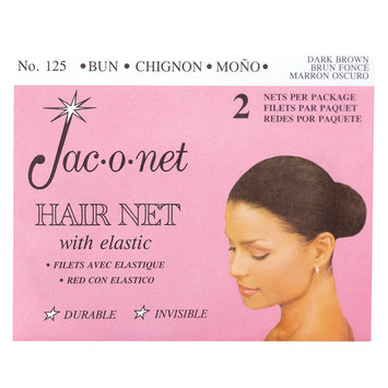 Jac-O-Net Chignon Bun Dark Brown