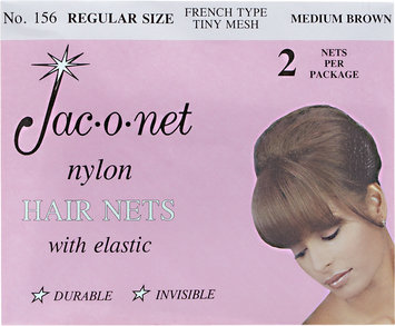 Jac-O-Net Regular Hairnet Medium Brown #156