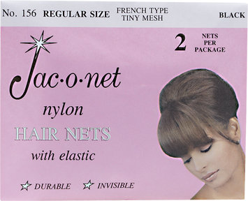 Jac-O-Net Regular Black Hairnet 156