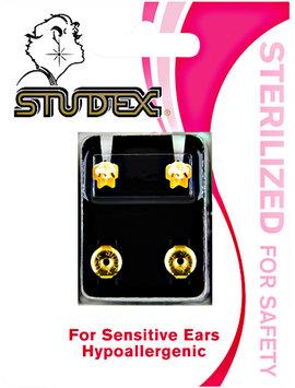 Studex Tiffany Cubic Zirconia Sterilized Piercing Earrings