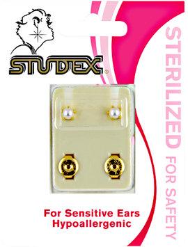 Studex White Pearl Sterilized Piercing Earrings