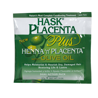 Hask Henna 'N Placenta with Olive Oil