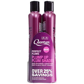Quantum Perfect Plums Shampoo and Conditioner Duo