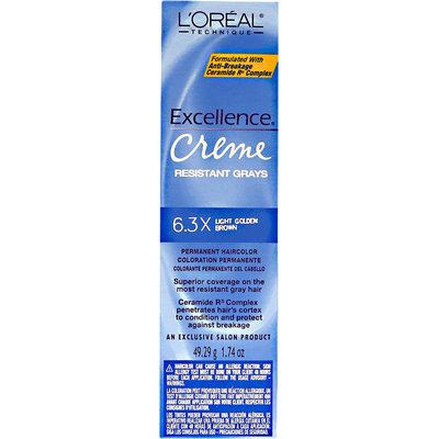 L'Oréal Creme Resistant Gray Lt. Gold Brown