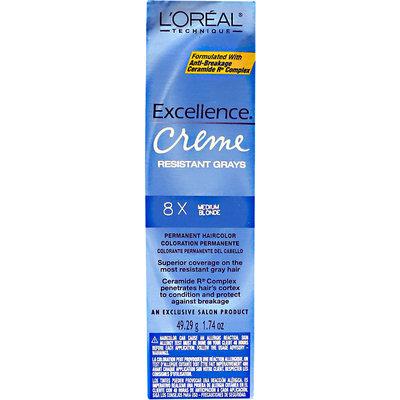 L'Oréal Creme Resistant Gray Medium Blonde