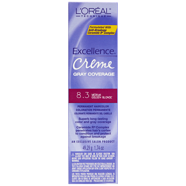 lor233al excellence creme medium golden blonde reviews