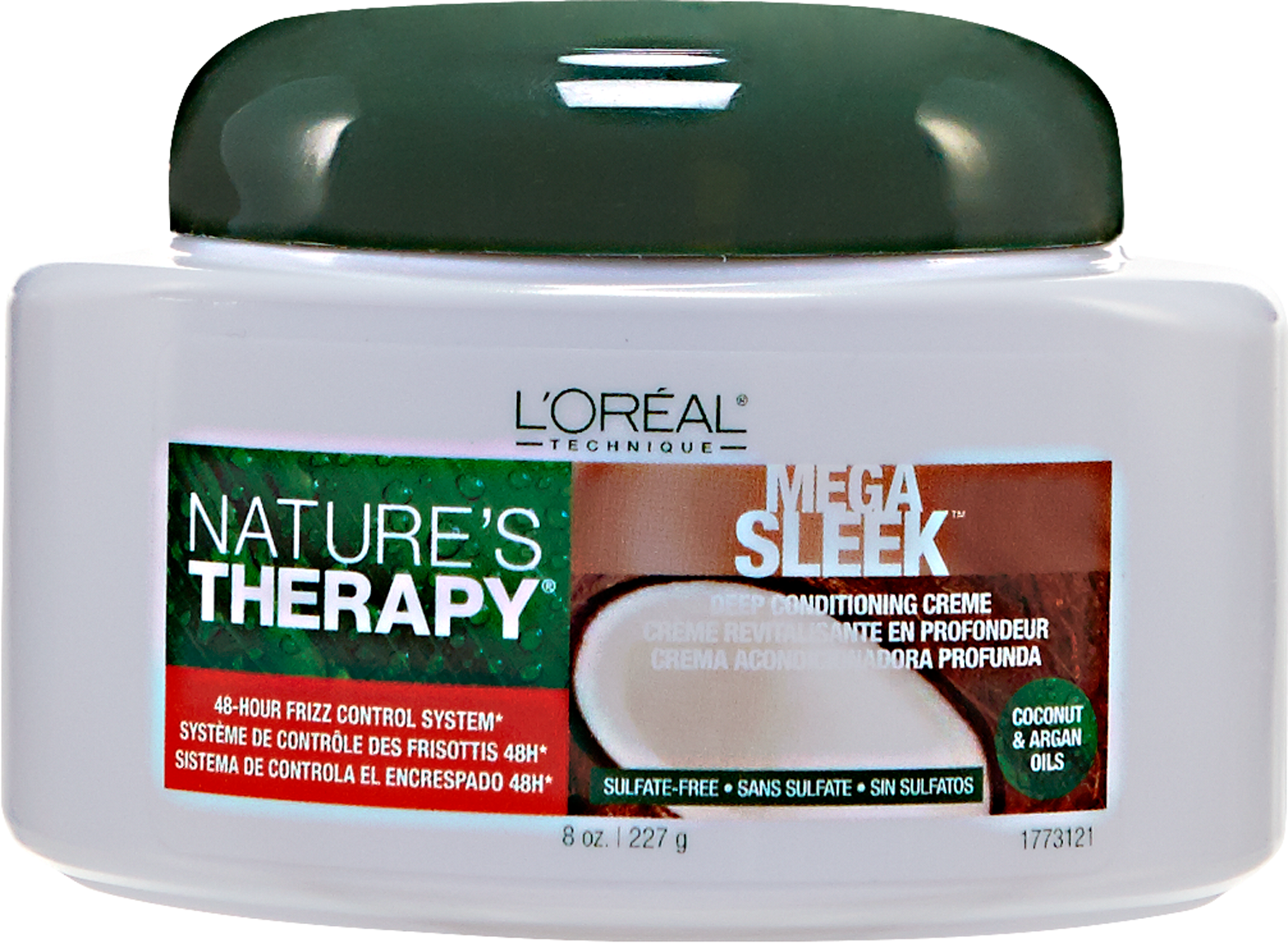 L'Oréal Paris Nature's Therapy Mega Sleek Deep Conditioning Creme