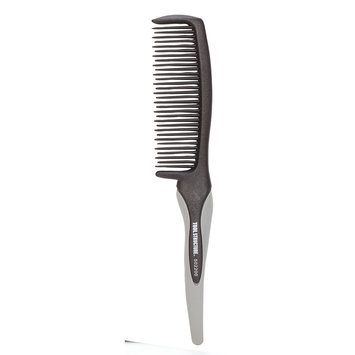 Tool Structure Detangler Comb With Rubber Handle