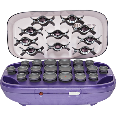 Helen Of Troy Hot Shot Tools Hairsetter With 20 Flocked Rollers