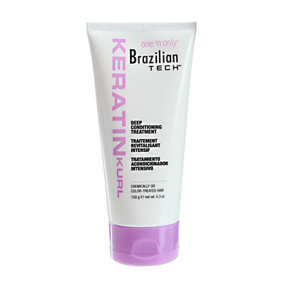 One 'n Only Brazilian Tech Keratin Kurl Deep Conditioning Treatment
