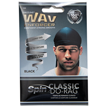 The Wave Enforcer Do-Rag Wave and Curl Cap