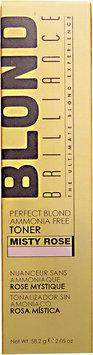 Blond Brilliance Perfect Blond Ammonia Free Toner Misty Rose