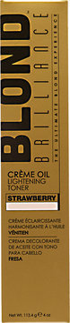 Blond Brilliance Creme Oil Lightening Toner Strawberry