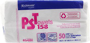 Graham Professional Graham Beauty PST Towels Huck Finish