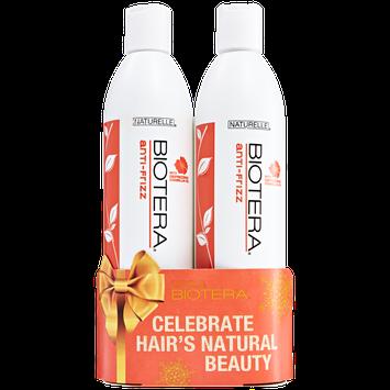 Biotera Anti-Frizz Shampoo and Conditioner Holiday Duo