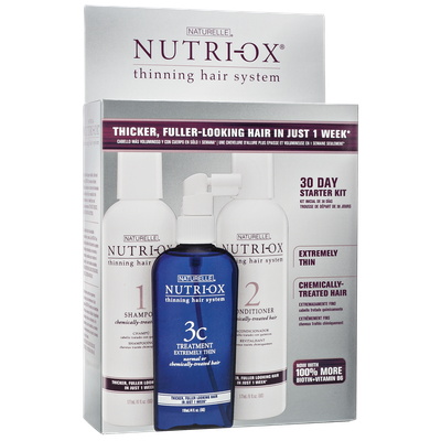 Nutri Ox Nutri-Ox Extremely Thin Starter Kit Chemically Treated Hair