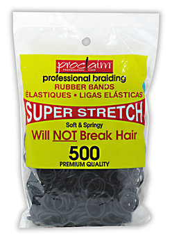 Proclaim Rubber Bands Black 400 Count