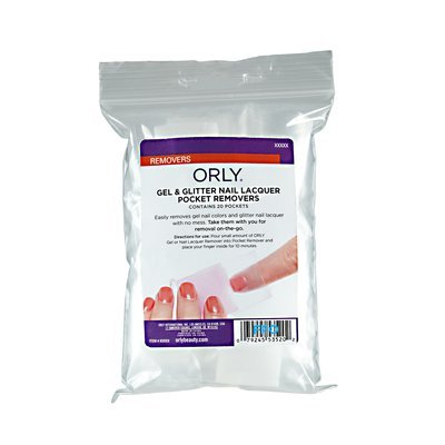 Orly Gel & Glitter Nail Lacquer Pocket Removers
