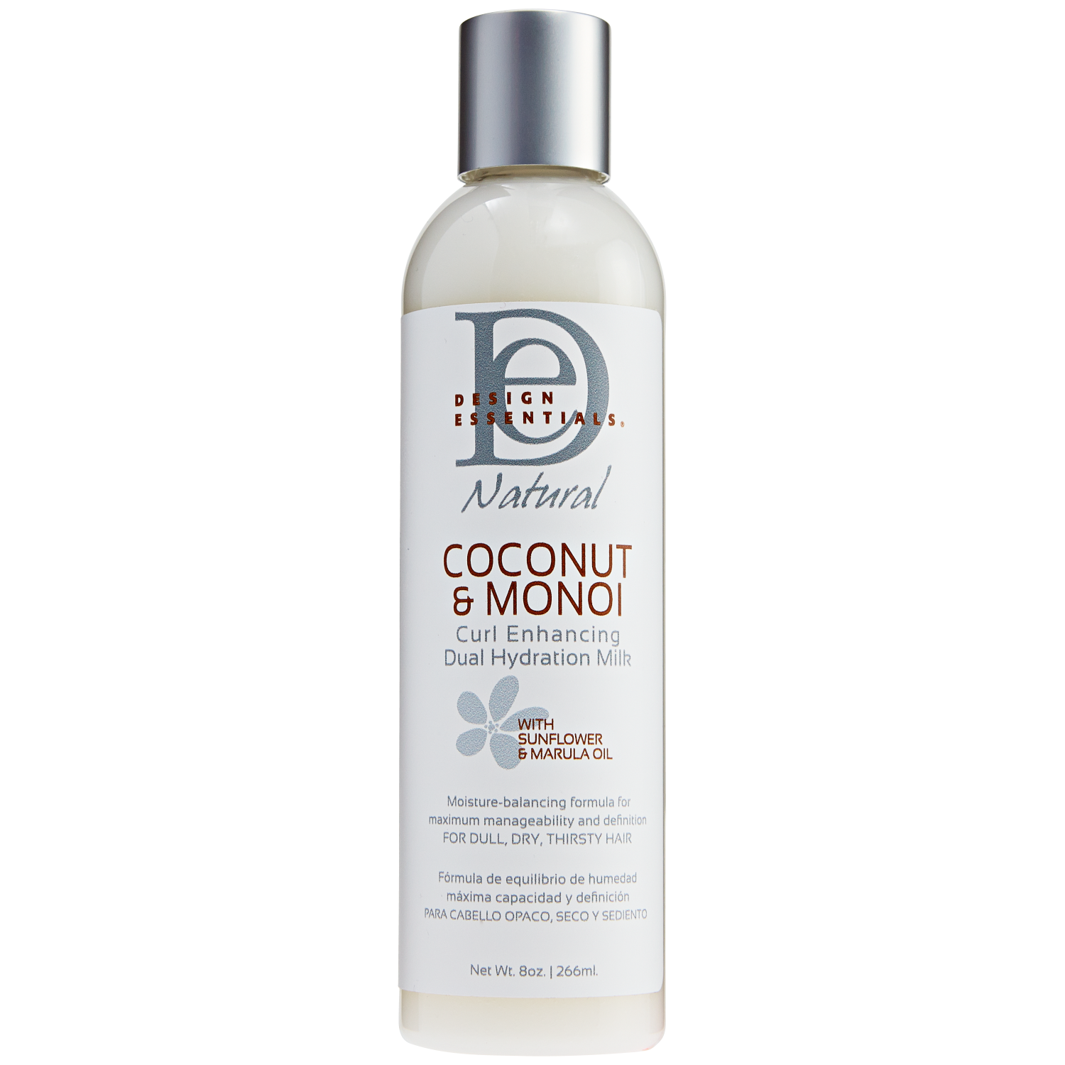 Design Essentials Natural Coconut and Monoi Curl Enhancing Dual Hydration Milk