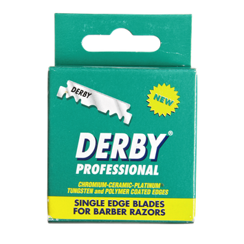 Derby International Derby Professional Single Edge Razor Blades