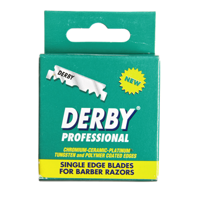 Derby International Derby Professional Single Edge Razor Blades