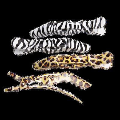 Colortrak Tools Safari Print Croc Clips