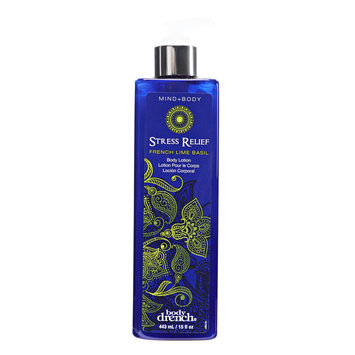 Body Drench Stress Relief French Lime Basil Body Lotion
