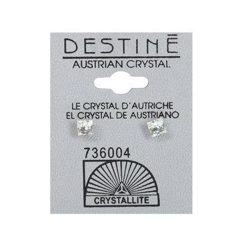 Crystallite By Destine Destine Emerald Austrian Crystal Pear-Shaped Earrings