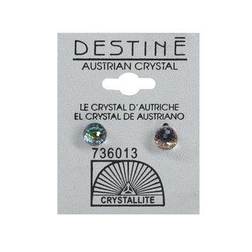 Crystallite By Destine Destine Multiple Edge Austrian Crystal Ball Earrings