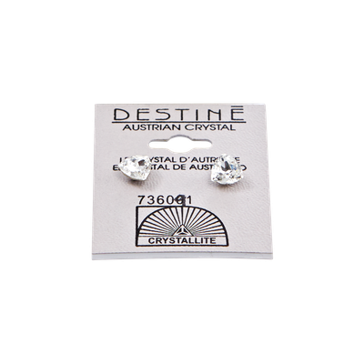 Crystallite Destine Trilliant Crystal Earrings