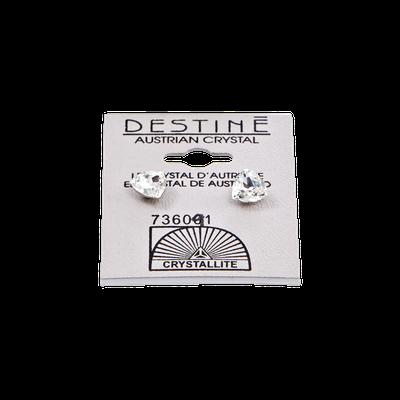 Crystallite Destine Trilliant Crystal Earrings