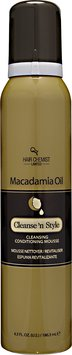 Hair Chemist Macadamia Oil Cleanse and Style Conditioning Mousse