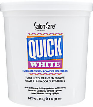 Salon Care Quick White Powder Lightener 1 lb.
