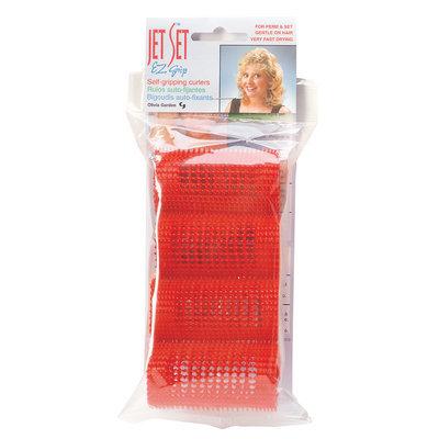 Olivia Garden Jet Set EZ Red Grip Rollers 1 1/2 4/pk