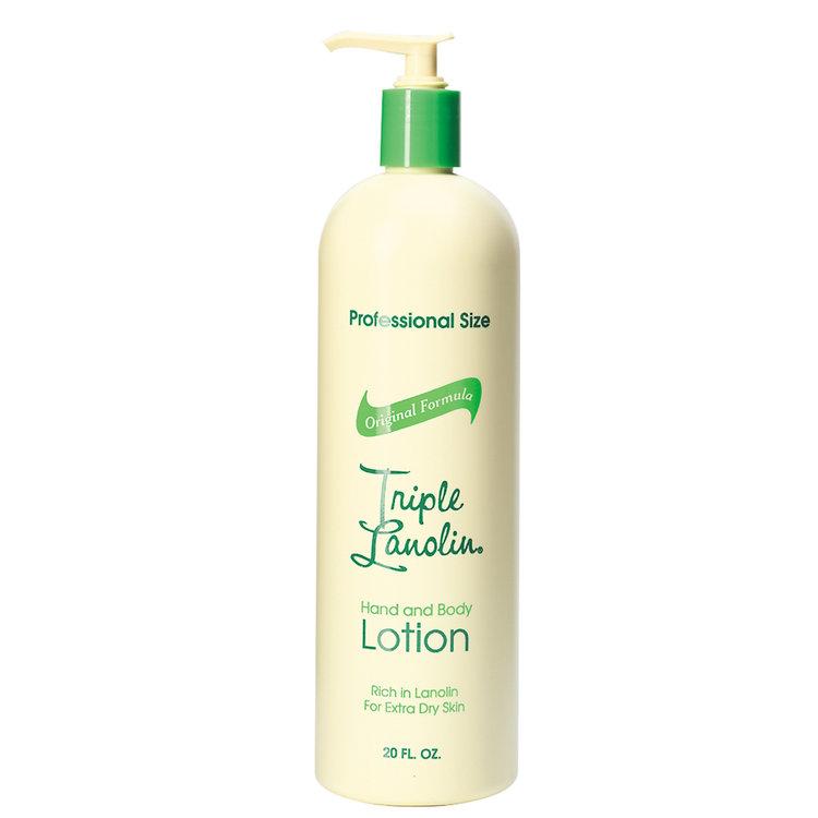 Triple Lanolin Aloe Vera Lotion 20 oz