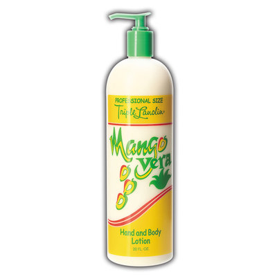 Triple Lanolin Mango Vera Hand & Body Lotion