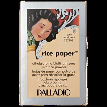 Palladio Rice Paper Blotting Tissues Translucent