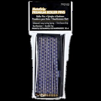 Metagrip Prints Roller Pins Purple 10 Count