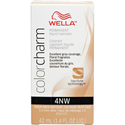 Wella Color Charm #4NW Medium Natural Warm Brown