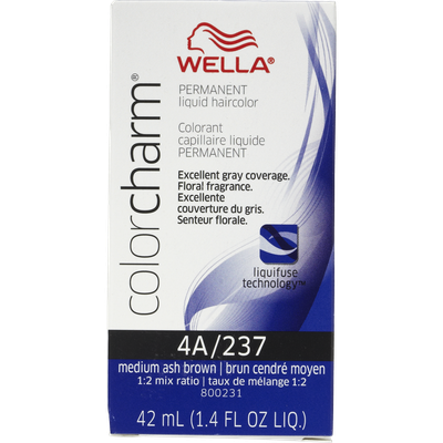 Wella Color Charm #4A/237 Medium Ash Brown