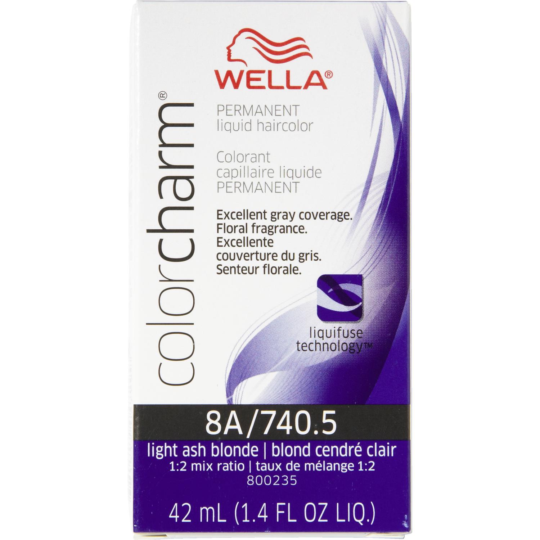 Wella Color Charm #8A/740.5 Light Ash Blonde