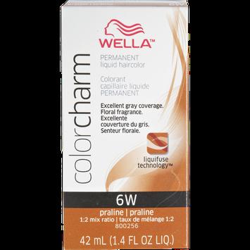 Wella Color Charm Liquid Permanent Hair Color#6W Praline
