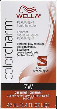 Wella Color Charm Liquid Haircolor 7W Caramel 1.4 oz