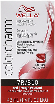 Wella Color Charm #7R/810 Red-Red