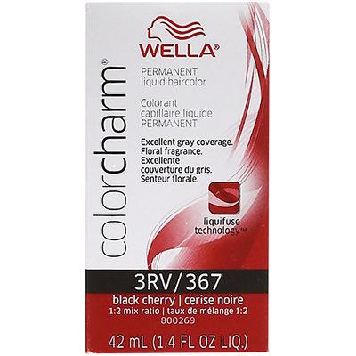 Wella Color Charm #RV/367 Black Cherry