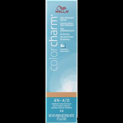 Wella Color Charm Demi Permanent Haircolor 4N (4/0) Medium Natural Brown